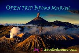 open trip bromo murah